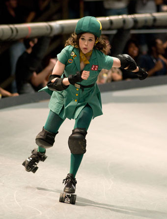 Ellen Page in Drew Barrymore's Whip It