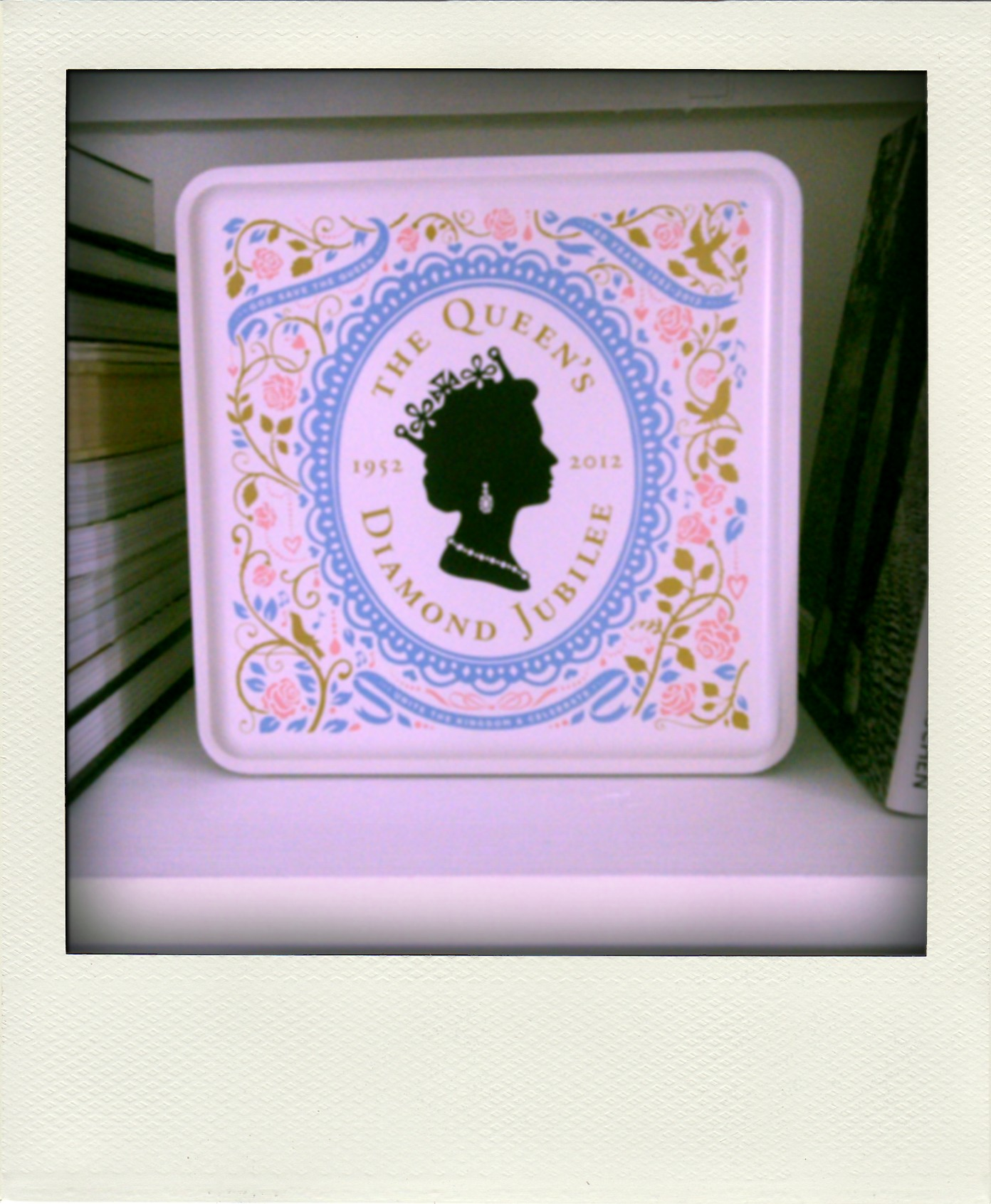 Marks & Spencer Diamond Jubilee tin