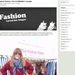Oxfam Fashion: Banish those bobbles!