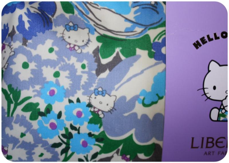 Hello Kitty Liberty print wash bag   Ship-Shape and Bristol Fashion