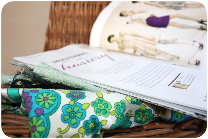 Cloth magazine hosiery DIY | Ship-Shape and Bristol Fashion