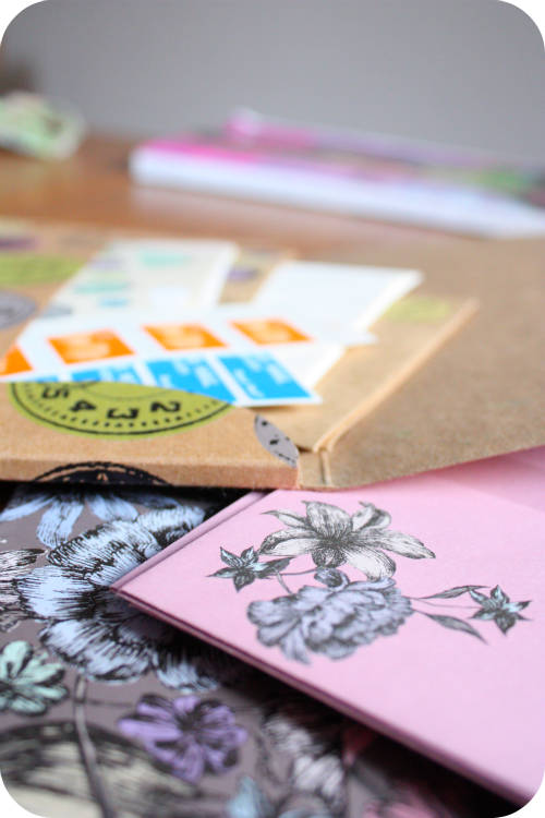 Paperchase letter sets with stamps | Ship-Shape and Bristol Fashion