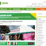 Oxfam Fashion: 10 Reasons to Visit a Festival Charity Shop
