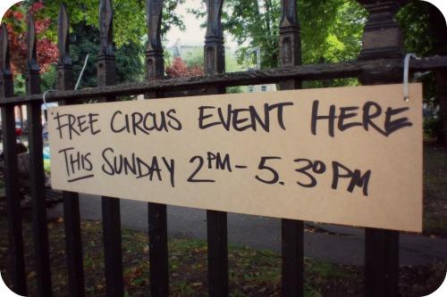 Circomedia Sunday Best event