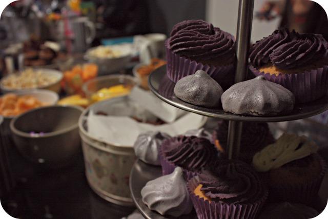 Bonjour Blogger Blog Club cupcakes