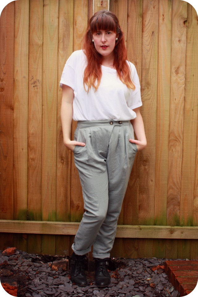 Clothes swap Topshop trousers