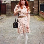 Peachy Keen: Charity Shop Dress from Gloucester Road
