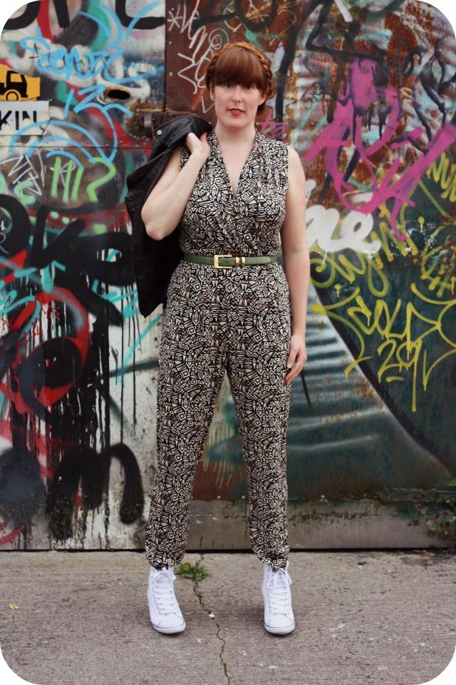 Wallis brown pattern jumpsuit