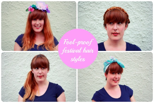Festival hairstyle tutorial