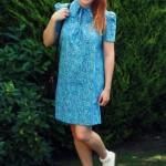 Dainty Vintage Paisley Dress