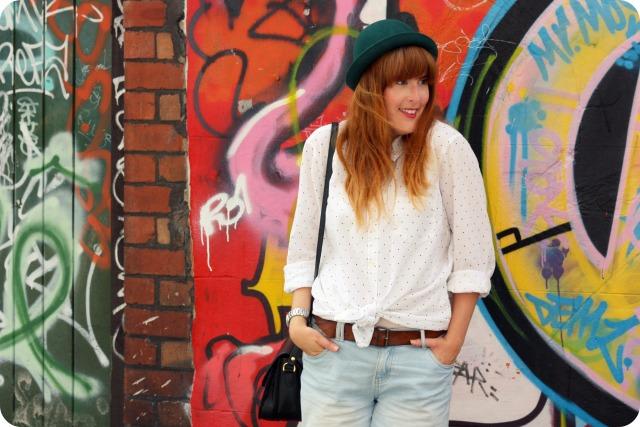 Shirt and bowler hat combo