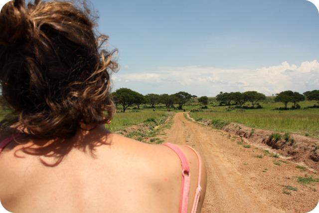 On safari in Uganda