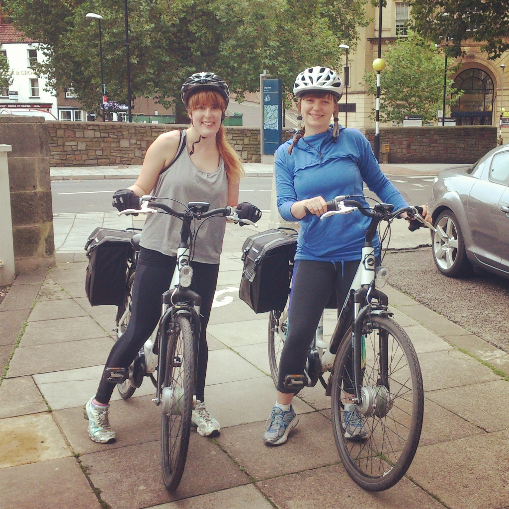 Cycling the Bristol to Bath cycle path