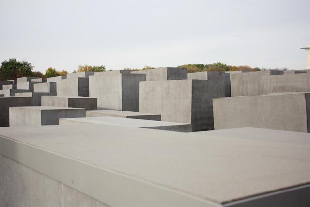 Berlin's Holcust memorial