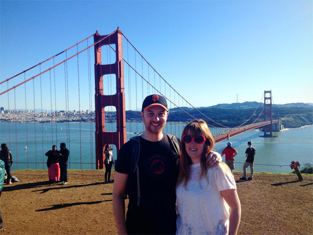 Golden Gate Bridge photo op