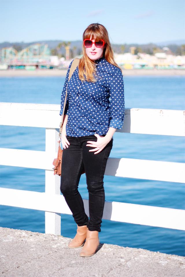Posing in Santa Cruz