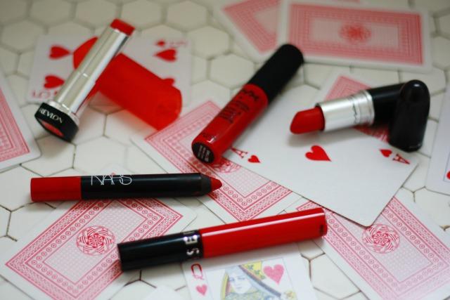 Top 5 red lipsticks