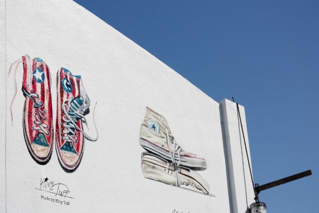 Converse street art