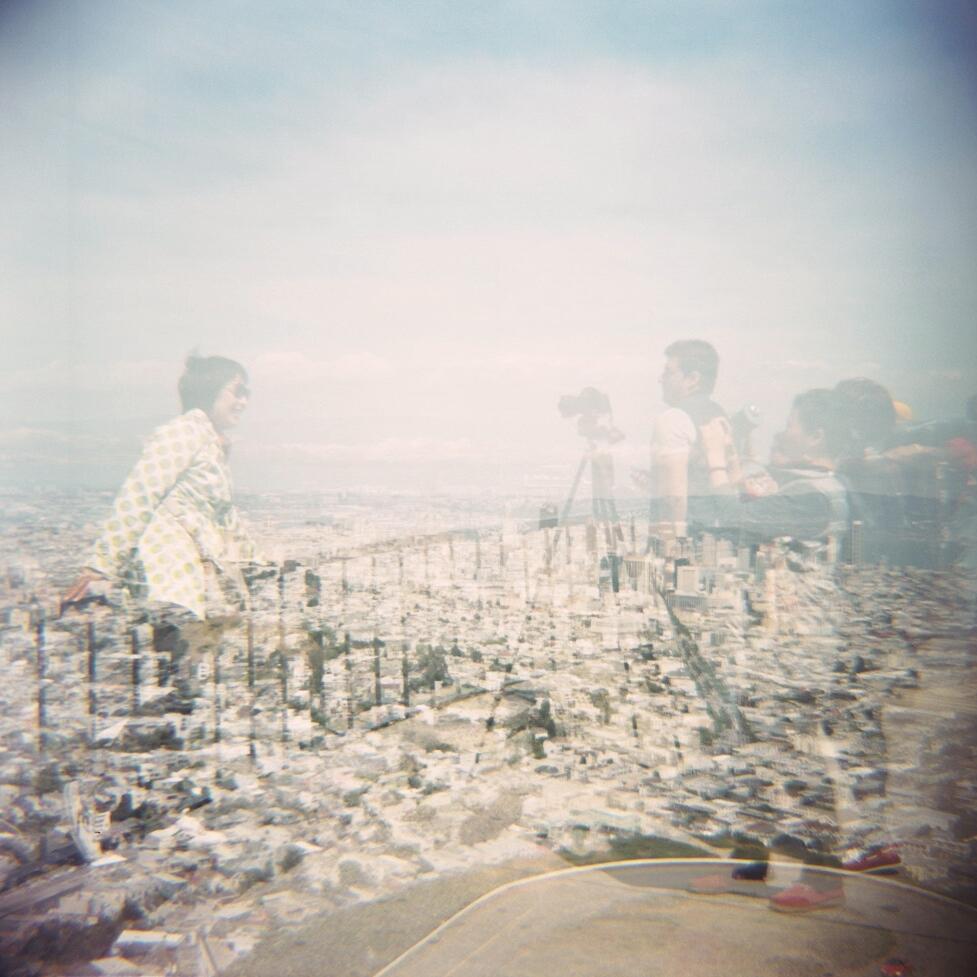 Double exposure at Twin Peaks SF