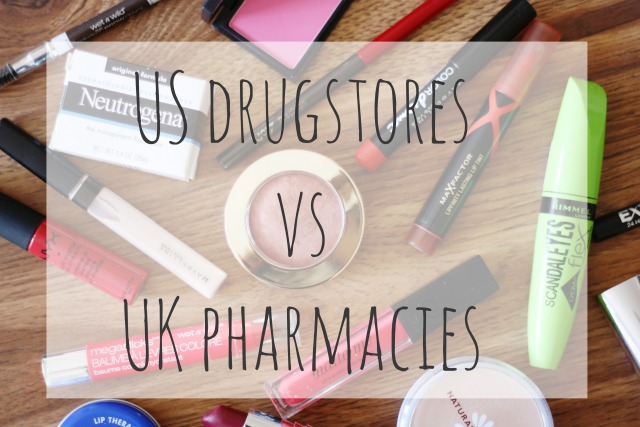 Difference between US drugstores vs UK pharmacies