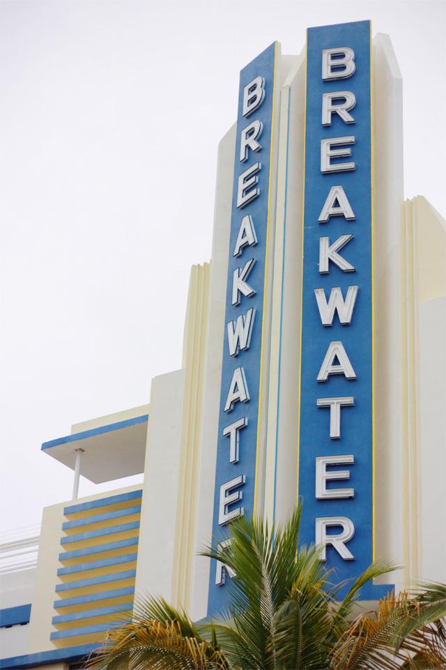 Breakwater building South Beach