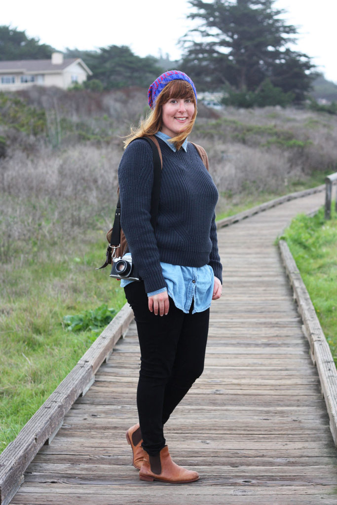 Big Sur lazy day outfit