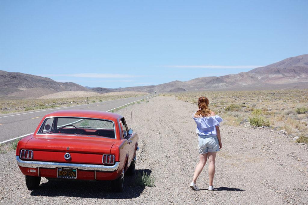 Mustang roadtrip Nevada