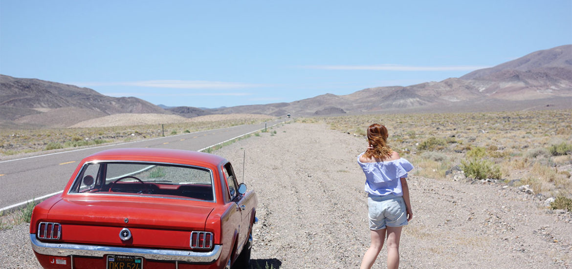 Mustang roadtrip Nevada