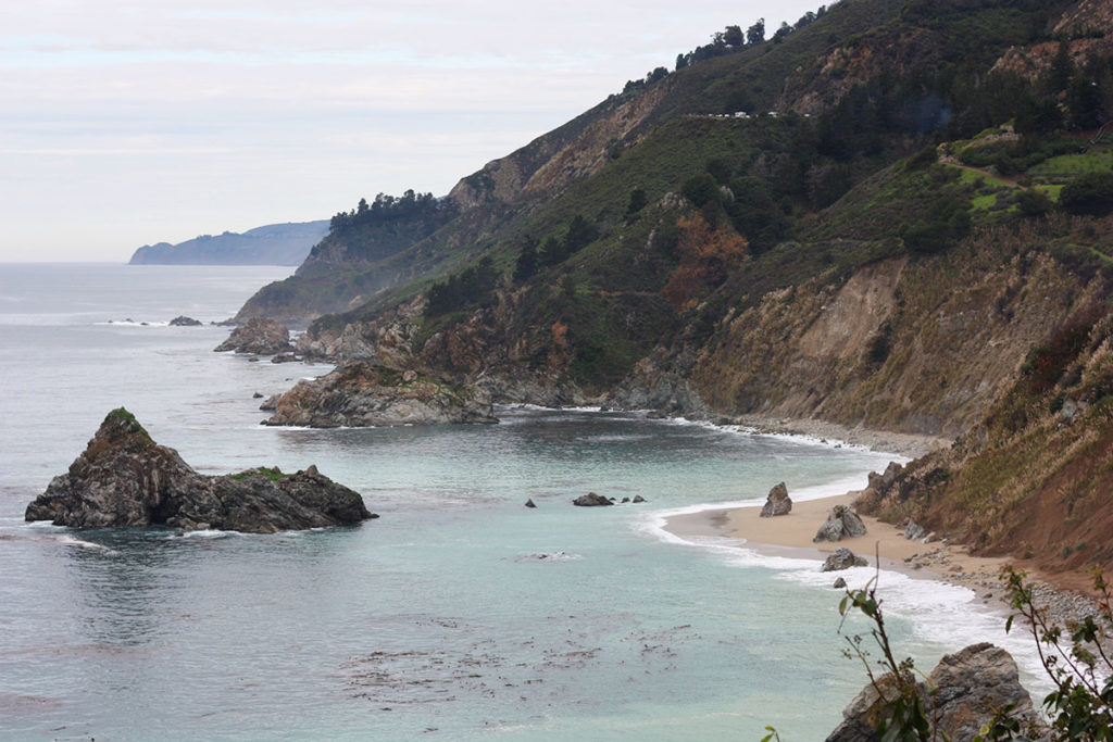View from McWay Falls