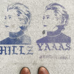 Williamsburg Hillary Clinton Street Art