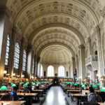 Boston library McKim building