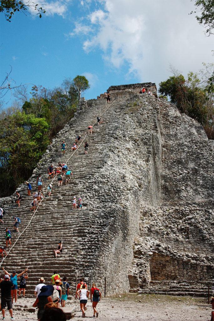 Grand Pyramid Coba Ruins