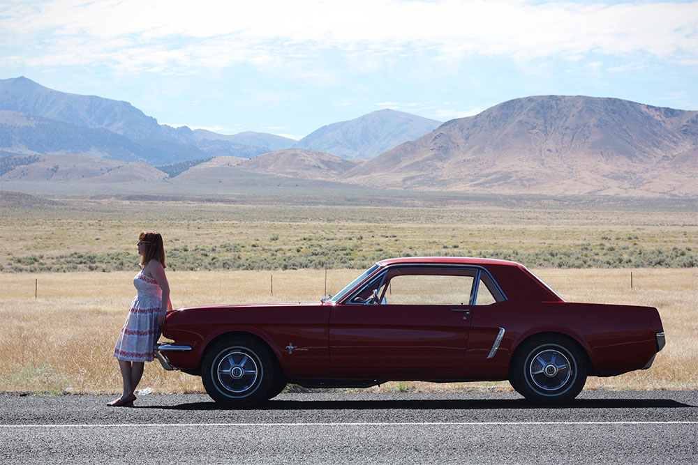Summer Road Trip: The Vintage Dress