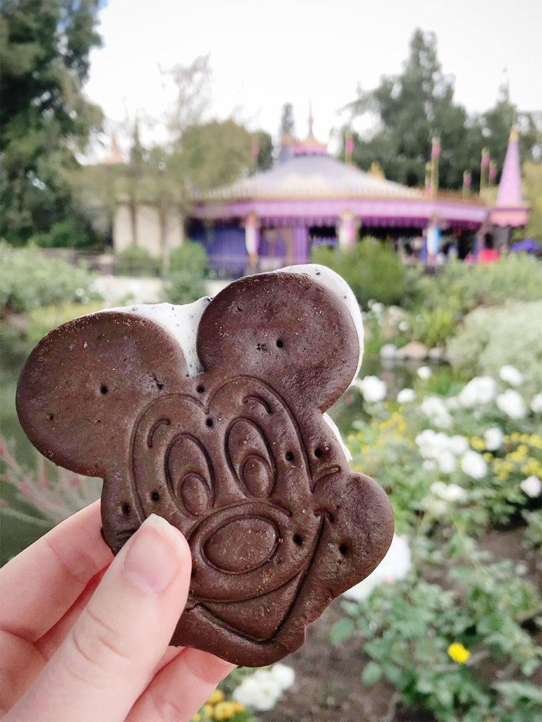 Disney ice cream sandwich