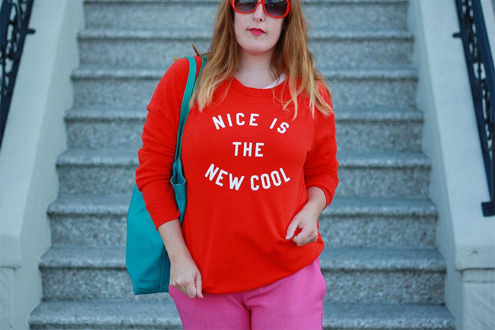 Old Navy Nice is Cool sweatshirt