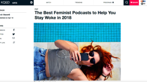 KQED Pop-Feminist Podcasts