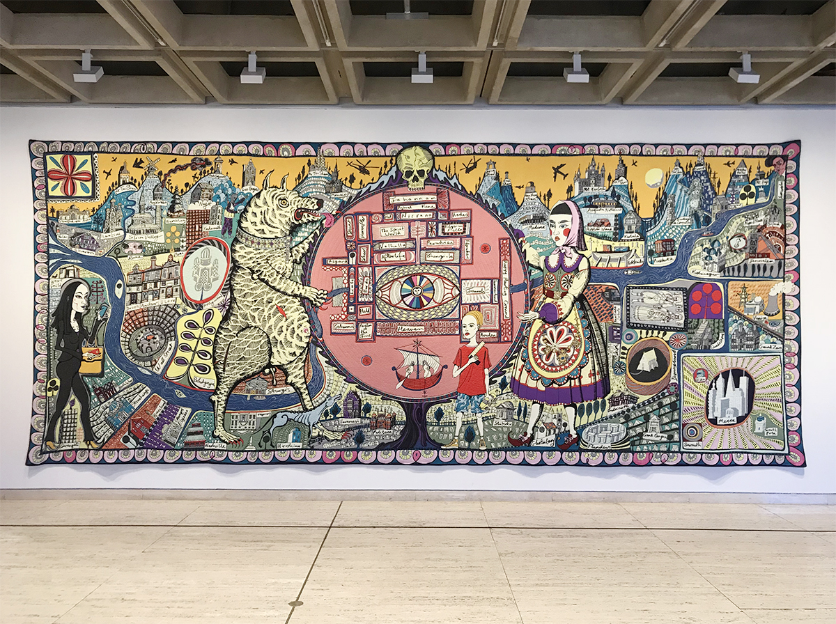 Grayson Perry at AGNSW