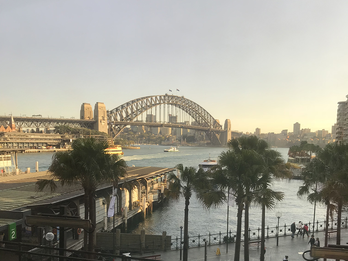 Sydney at sunrise