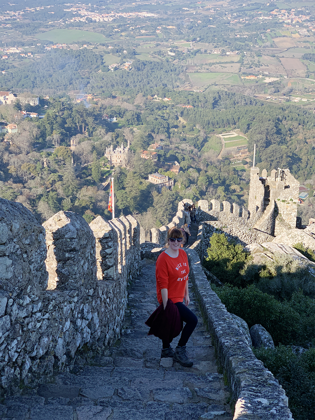 Sintra Moorish Castle
