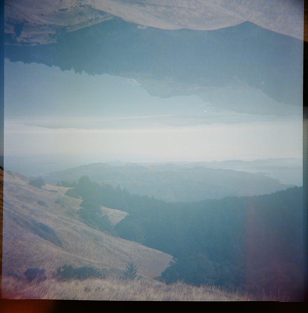 Mount Tam lomography photo