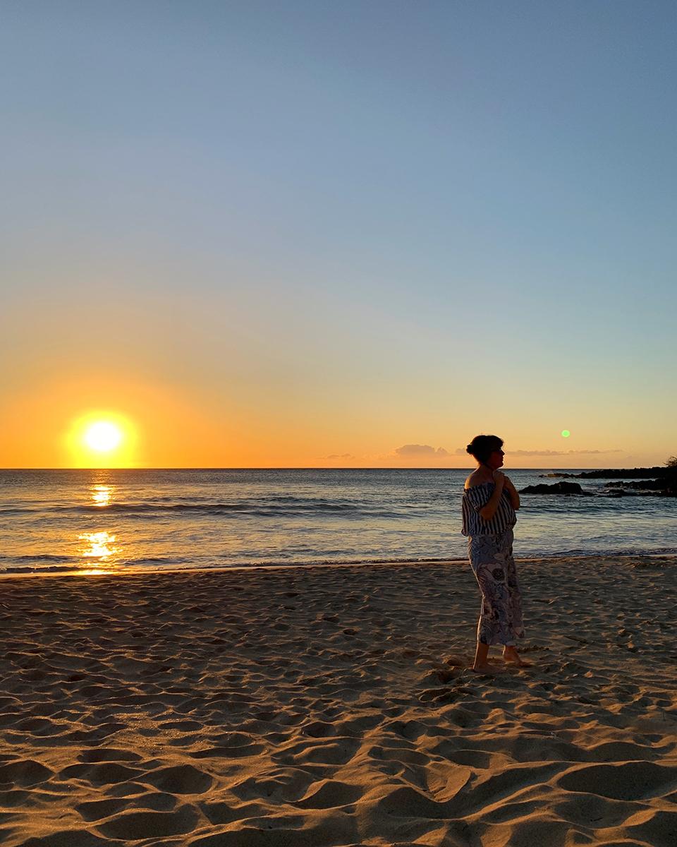 Hapuna beach OOTD